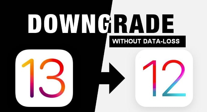 downgrade from ios13 without data-loss