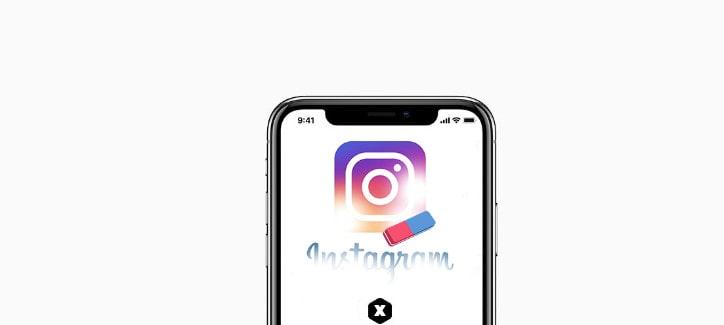Erase Instagram