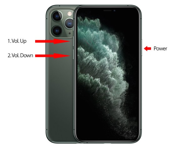 Force Reboot iPhone 11