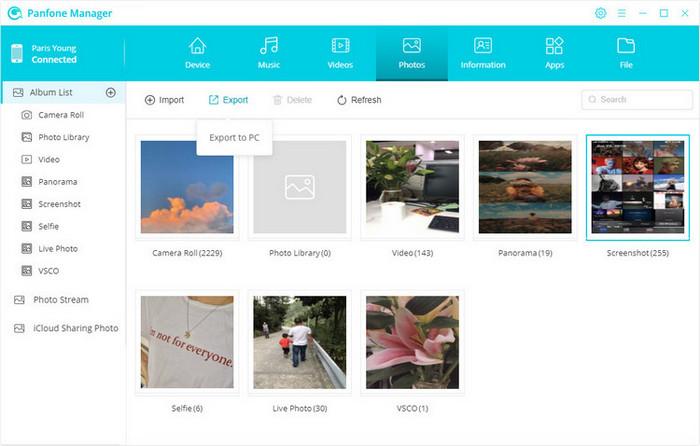 manage photo