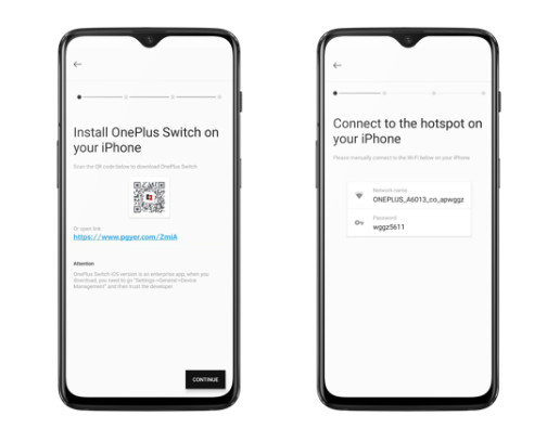 open oneplus switch in oneplus