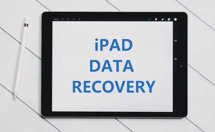 Recover Lost Data on iPad
