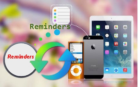 recover deleted iPhone reminders