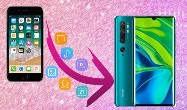 Transfer Data from iPhone to Xiaomi Note 10