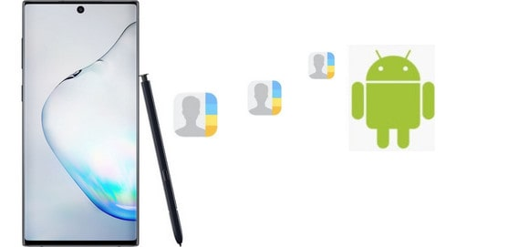 Transfer Contacts from Android to Samsung Galaxy Note 10
