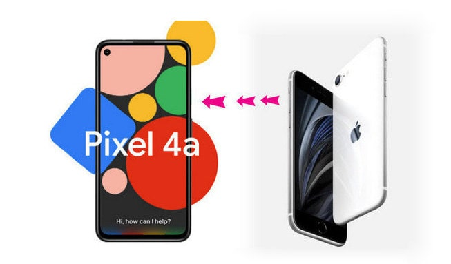 Transfer Everything from Old iPhone to Google Pixel 4a/4a XL