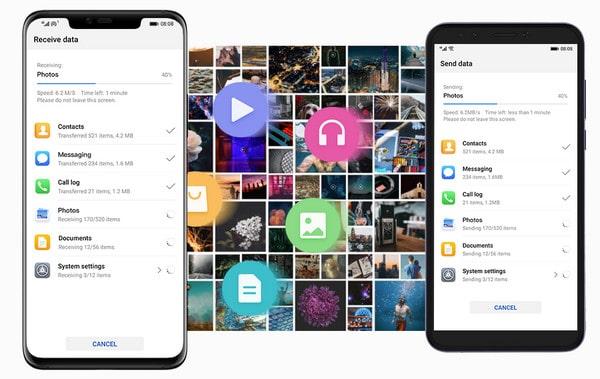 Transfer iPhone Photos to Huawei Mate 30