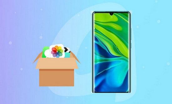Transfer Photos from iPhone to Xiaomi Mi Note 10