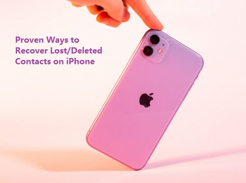 proven ways to recover contacts on iPhone