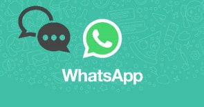 get back WhatsApp message