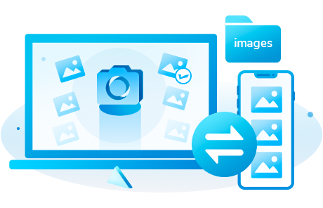 manage, transfer and backup photos